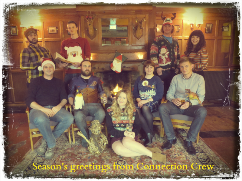 Season's greetings from Connection Crew
