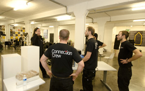 Connection Crew at Truman Brewery with D&AD